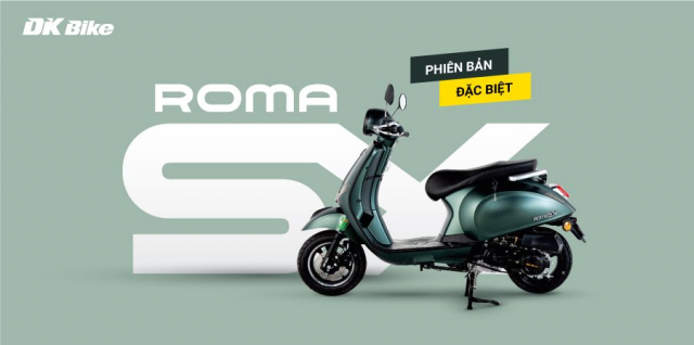 Mau Xe Ga 50cc Roma SX dep long lanh cop sieu rong co gi an tuong - 3