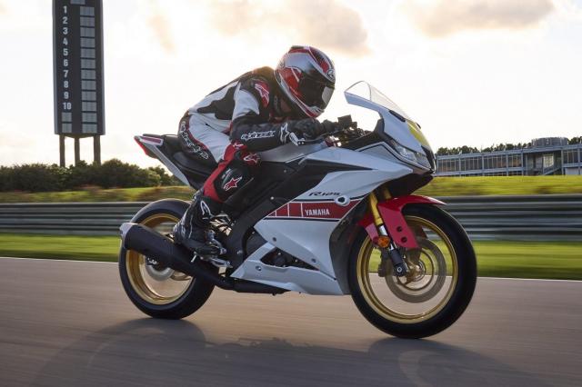 Can canh Yamaha R125 2022 phien ban Ky niem trang bi an dut R15 than thanh - 30