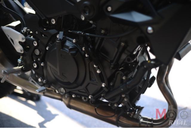 Honda CB500F the he moi va Kawasaki Z400 tren ban can thong so - 5