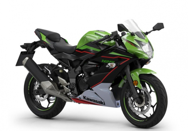 Kawasaki Ninja 125 2022 chinh thuc trinh lang gay soc voi gia ban tren troi - 9