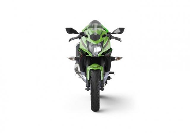 Kawasaki Ninja 125 2022 chinh thuc trinh lang gay soc voi gia ban tren troi - 13
