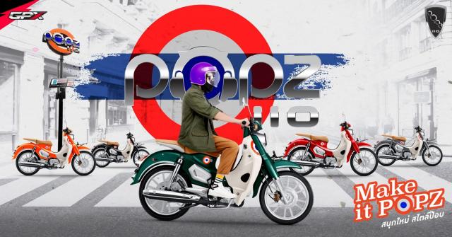 Sam soi GPX POPZ 110 2021 Mau xe duoi 30 trieu dong lam ai cung say me - 37
