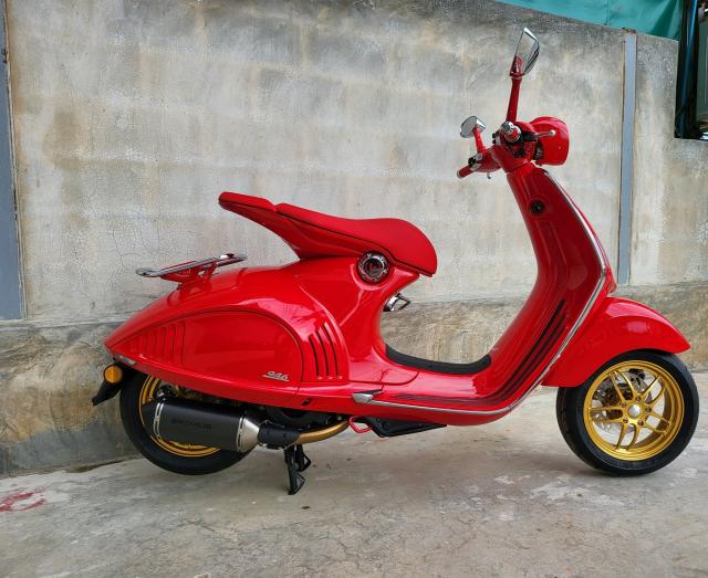 Sieu pham Vespa 946 hoan thien hon voi dan chan Racing - 9