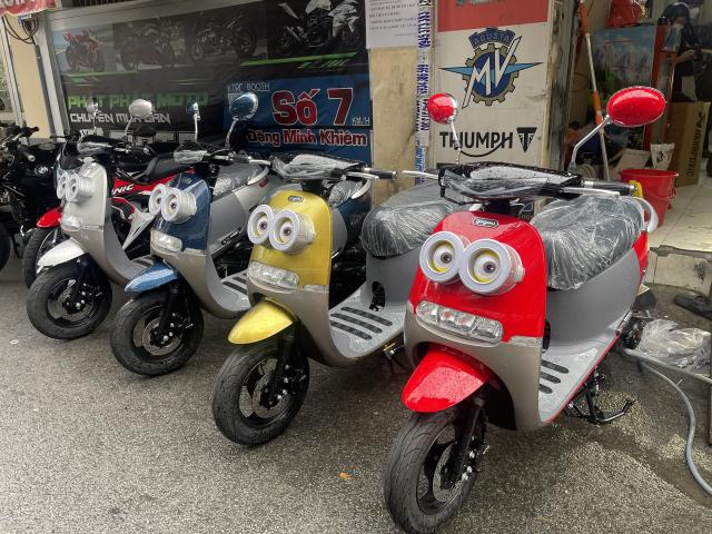 _ Moi ve xe Lo xe NAMOTOR xe 50cc Khong can bang Lai rat tien cho hoc sinh va cac chi em di cho - 4