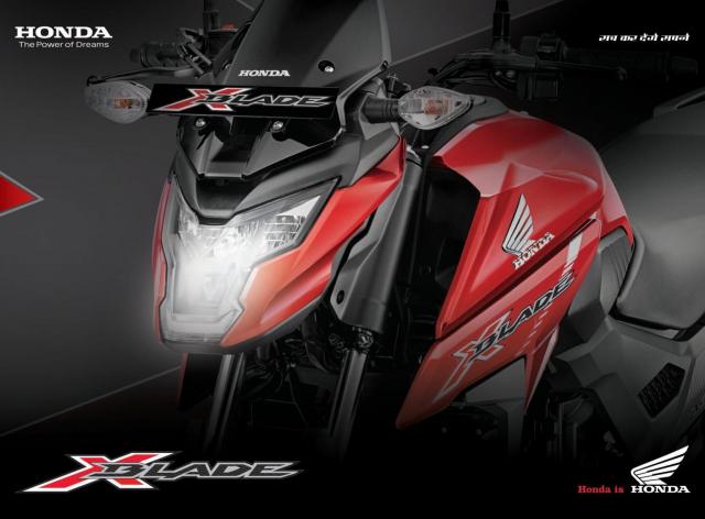 Honda XBlade 160 2022 trinh lang gieo rac hi vong cho Winner X 160