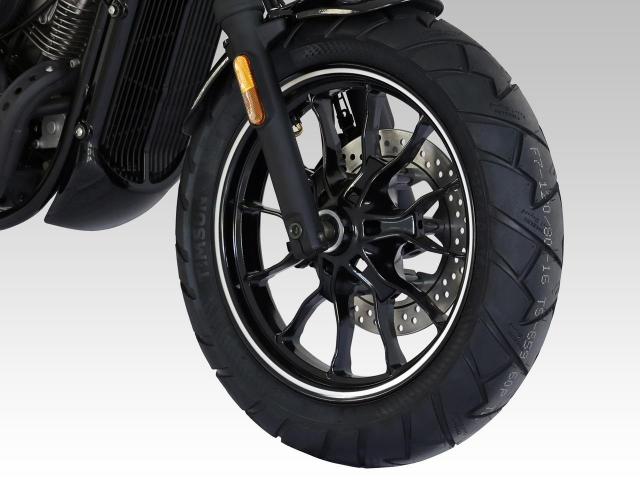 Hyosung GV125S Mau Bobber 125cc may VTwin khien ai cung phat cuong - 3