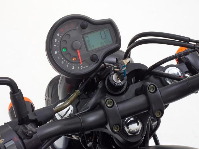 Hyosung GV125S Mau Bobber 125cc may VTwin khien ai cung phat cuong - 8