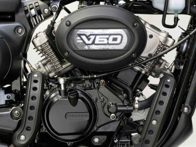 Hyosung GV125S Mau Bobber 125cc may VTwin khien ai cung phat cuong - 12
