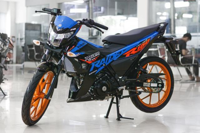Suzuki Raider 150 Doi 2019 Phanh ABS Xe Nhap Khau Gia Re